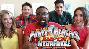 power rangers super megaforce cast interview black nerd