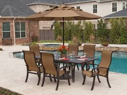 Outdoor Patio Dining Sets With Umbrella - furniture antique aluuminum outdoor furniture with rectangle