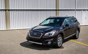 subaru outback 2017 interior 2017 subaru outback in depth model review car and driver