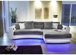 canapé lolet canapé d angle laredo similicuir tissu blanc gris weba meubles