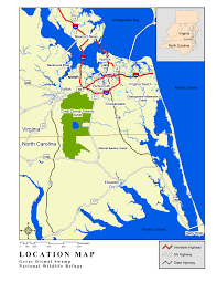 A Map Of Virginia by Refuge Map Great Dismal Swamp U S Fish And Wildlife Service