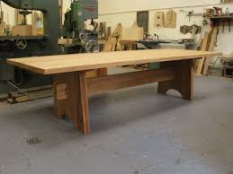 3 Metre Dining Table 3 Metre Oak Trestle Dining Table 12 Seater Adventures In Wood