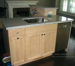 island sinks kitchen kitchen island with sink and dishwasher large size of small island
