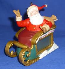 hallmark ornament countdown to 2012 santa sleigh light