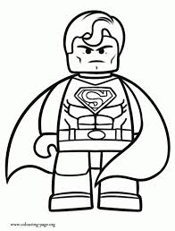 lego superman free coloring pages art coloring pages