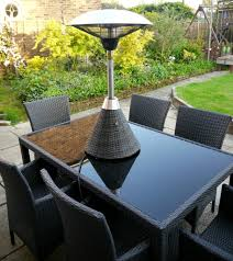 Patio Table Heaters Outdoor Electric Heater At Umbrella Sorrentos Bistro Home