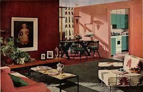 1950s Interior Design   1950s interior design and decorating style 7 major trends 1950s