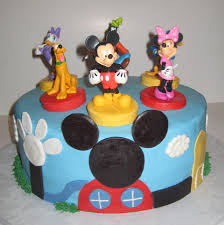 mickey mouse clubhouse birthday cake mickey mouse clubhouse cake with character toppers from the disney