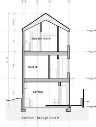 Sustainable House Design Floor Plans Vertical House Raises Sustainable Seattle Living To New Heights