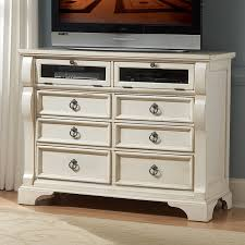 american woodcrafters heirloom media chest antique white hayneedle