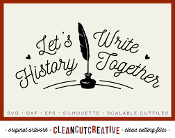 svg let u0027s write history together valentine love wedding feather