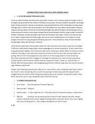 contoh laporan wawancara pedagang bakso laporan penelitian usaha kecil
