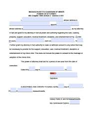 Legal Forms Power Of Attorney by Free Legal Forms Massachusetts Power Of Attorney Professional