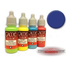 vallejo game color paint ultramarine blue 72 022