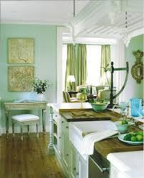 kitchen ravishing green wall painted kitchen decor with maple