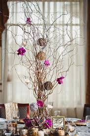 decorating natural curly lighted branches for home accessories ideas