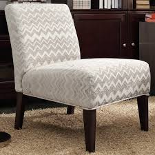 Slipcovered Slipper Chair Inspire Q Peterson Grey Chevron Slipper Chair Free Shipping