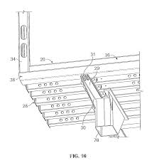 patent us8100465 trailer rear door frame with angled rear sill