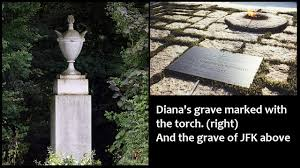 princess diana gravesite sandra barr preparing the way for the messiah