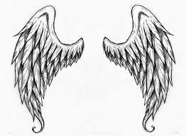 wings stencilsangel wings free stencil wings