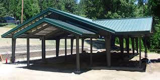 carport with storage plans rv port designs carport plans how to build a travel trailer storage