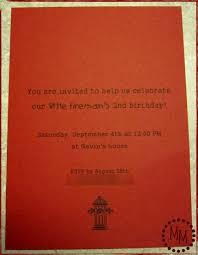fire truck invitations fire truck party invites the scrap shoppe