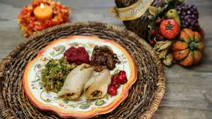 healthy versions of thanksgiving favorites from on a plate