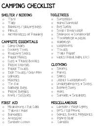 best 25 camping checklist ideas on pinterest camping essentials