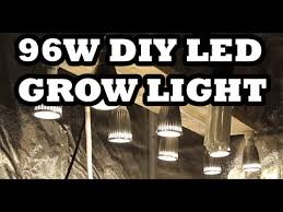 how to build a led grow light 96w diy led grow light how to build it for 57 youtube