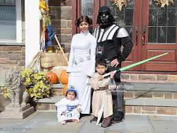 Family Star Wars Halloween Costumes In Focus Halloween Around The World Photos And Images Getty Images