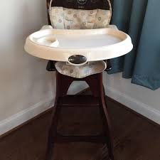Wooden High Chair For Sale Find More Carter U0027s Wood Highchair For Sale At Up To 90 Off