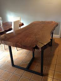 dining tables how to make a wood slab coffee table live edge