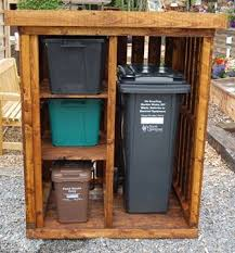 Free Wooden Garbage Box Plans by The 25 Best Pallet Shed Plans Ideas On Pinterest Shed Plans