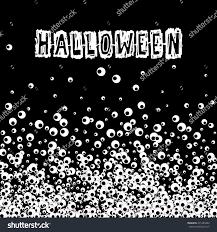 halloween black banner apple eye scratch stock vector 471385382