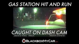 lexus dealership vancouver canada gas station hit and run caught on a dash cam in vancouver bc