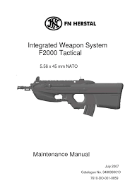 108973403 f2000 tm f maintenance manual tac english trigger