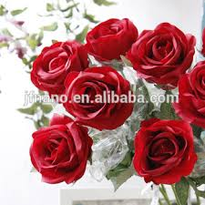 silk roses flower arranging accessories decorative artificial silk roses