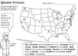 the worksheets weather weather forecast esl การศ กษา pinterest