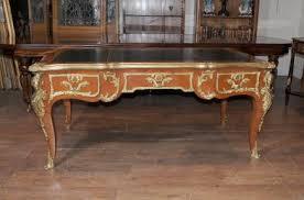 antique french empire partners desk bureau plat writing table