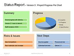 it progress report template status template be clear successful with status reports