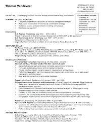 Analyst Resume Sample Sample Of Financial Analyst Resume Sample Of Financial Analyst