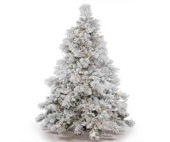 artificial christmas trees with white and colored lights best
