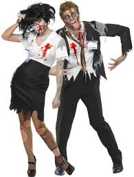 Zombie Halloween Costumes Adults Couples Halloween Costumes Zombie Officers Costume Couples