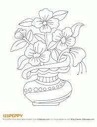 Vase Drawing Flower Vase Drawings Vases Sale Coloring Home