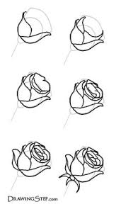 coloring cool ways draw rose sketch drawing coloring