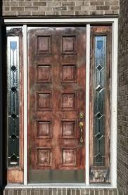 can you use an existing door for a barn door door refinishing door renew