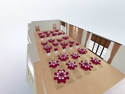 hospitality event space planning 3d design active design systems