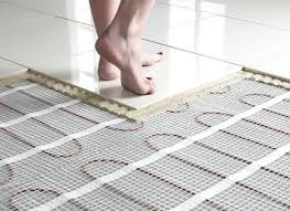Heated Bathroom Rug Radiant Heat Floor Mats Matden Info Inside Heated Bathroom Floors