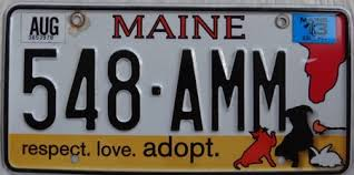 Maine Vanity License Plates Ultimate Introduction Of American License Plates 50 Us State