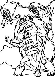 angry native atlantis lost empire coloring pages batch